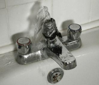 failed sink repair before Saratoga Plumbers arrived